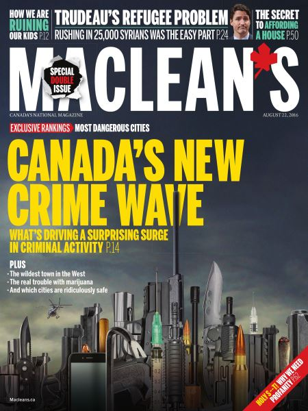 Issue: - August  22 2016 | Maclean's