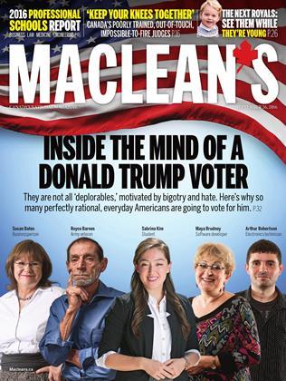 SEPTEMBER 26, 2016 | Maclean's