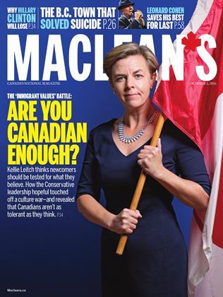 OCTOBER 3, 2016 | Maclean's