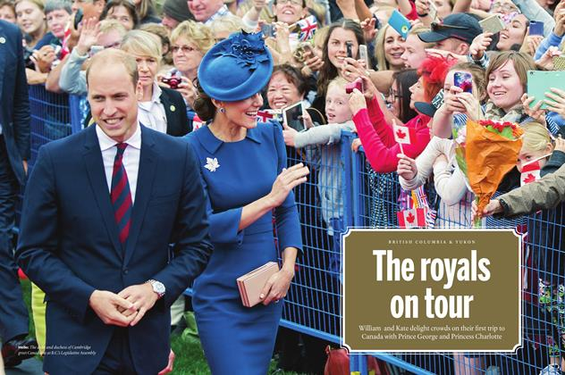 The royals on tour