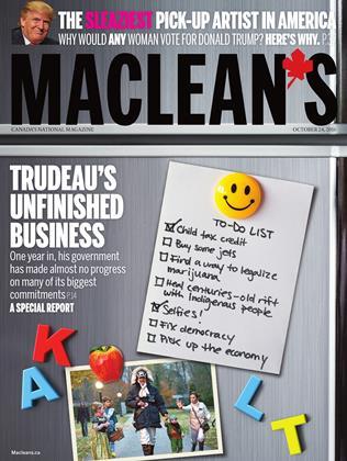 OCTOBER 24, 2016 | Maclean's