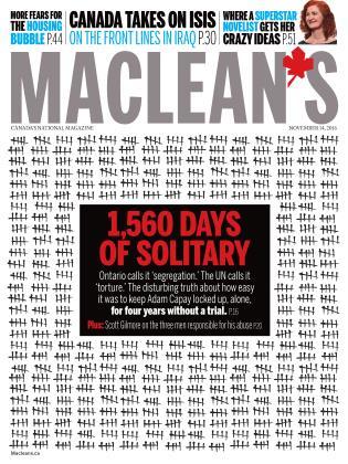 NOVEMBER 14, 2016 | Maclean's