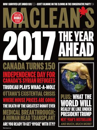 Cover for the January 2 2017 issue