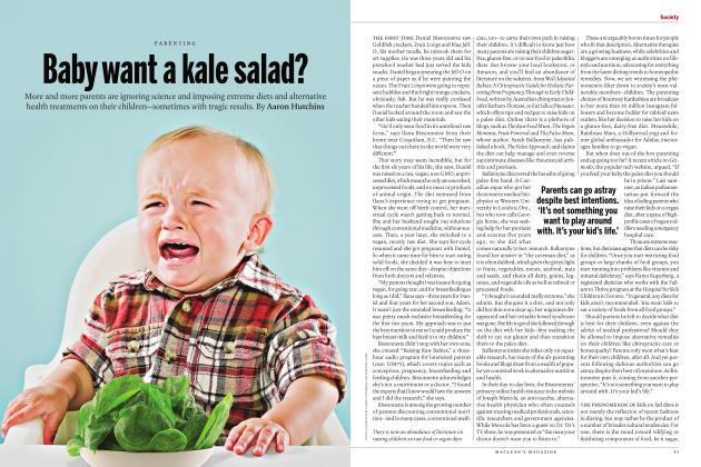 Baby want a kale salad?