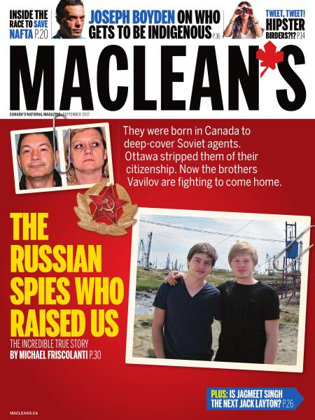 Issue: - SEPTEMBER 2017 | Maclean's