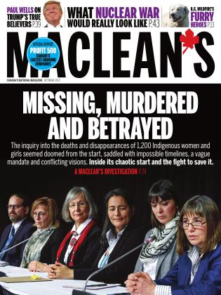 Cover for the October 1 2017 issue