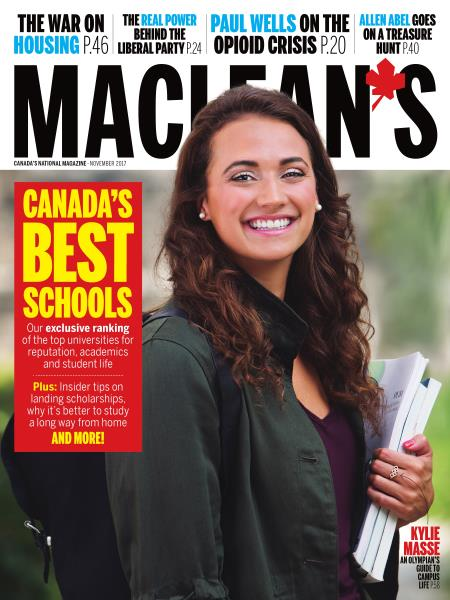 Issue: - NOVEMBER 2017 | Maclean's