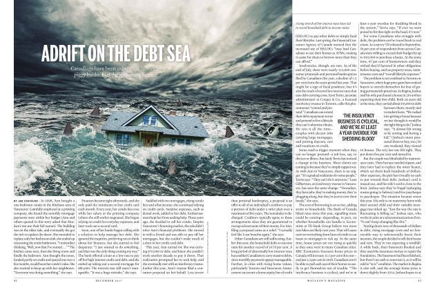 ADRIFT ON THE DEBT SEA