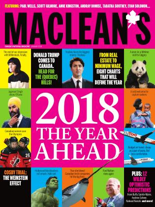 Cover for the January 1 2018 issue