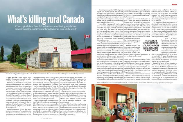 What's killing rural Canada