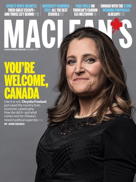 Issue: - NOVEMBER 2018 | Maclean's