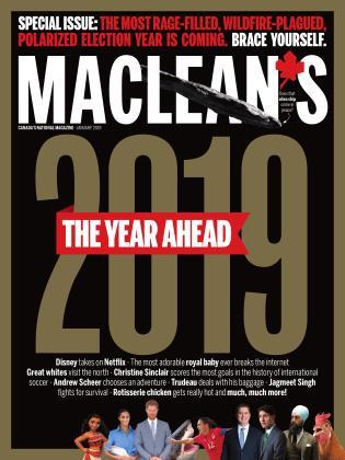 JANUARY 2019 | Maclean's