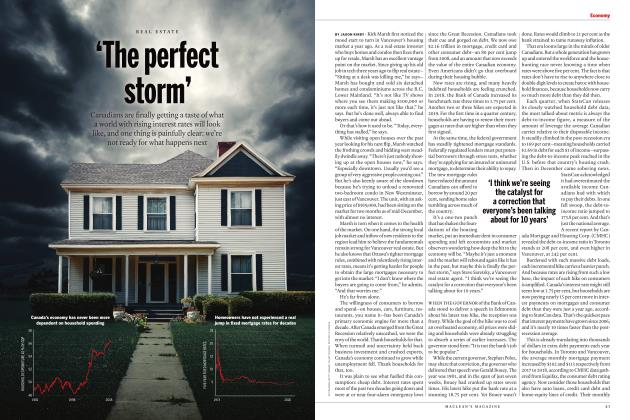 'The perfect storm'