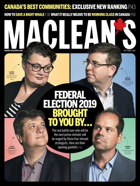 Issue: - SEPTEMBER 2019 | Maclean's