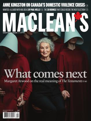 Cover for the October 1 2019 issue