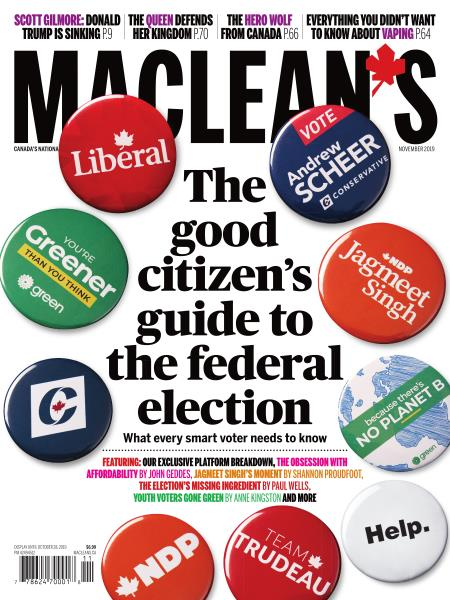 Issue: - NOVEMBER 2019 | Maclean's
