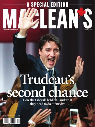 Cover for the December 1 2019 issue