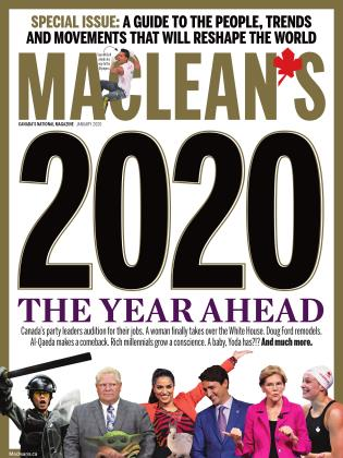 Cover for the January 1 2020 issue