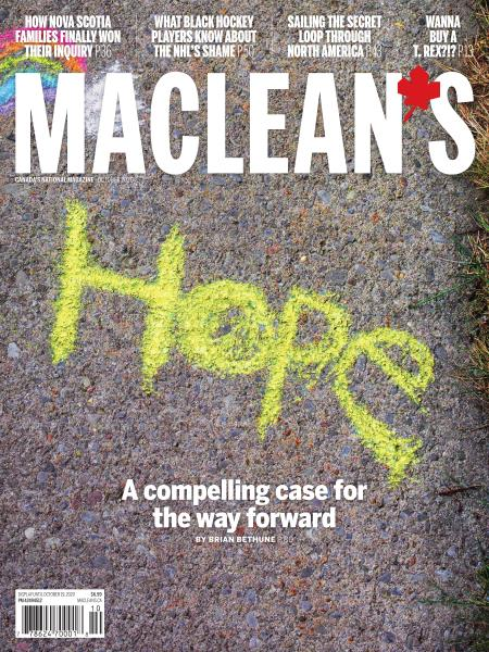 Issue: - OCTOBER 2020 | Maclean's
